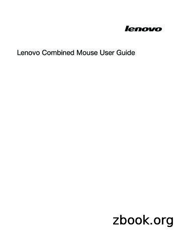 Lenovo Combined Mouse User Guide