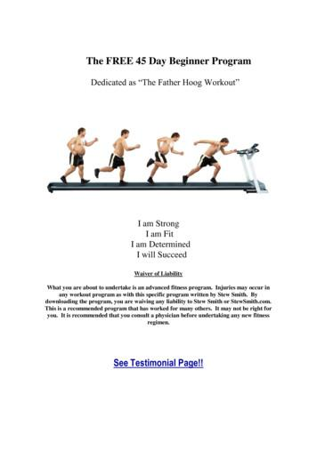 The FREE 45 Day Beginner Program - Stew Smith Fitness