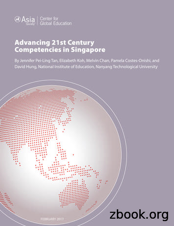 Advancing 21st Century Competencies in Singapore