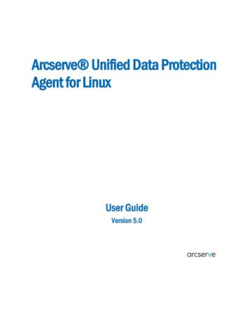 Arcserve Unified Data Protection Agent for Linux