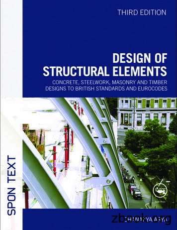 Design of Structural Elements - Basic Engineering