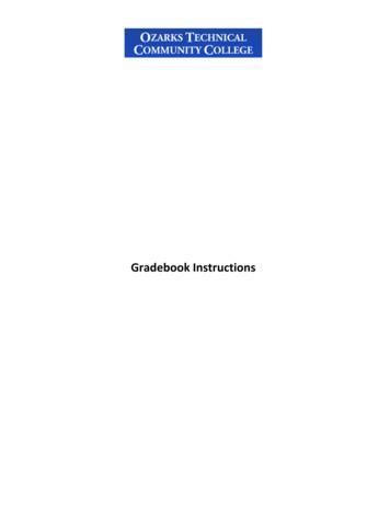 Gradebook Instructions - OTC College Services - OTC Services
