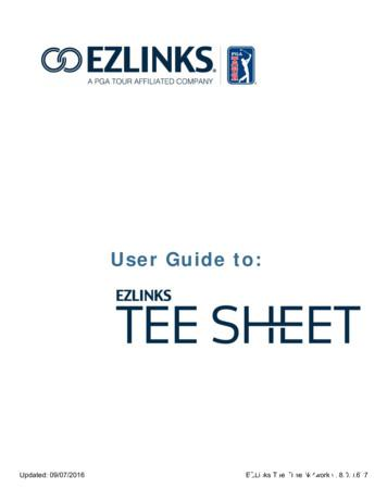 User Guide to