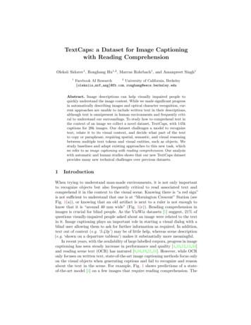 TextCaps: a Dataset for Image Captioning with Reading .