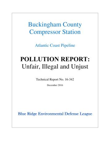 Buckingham County Compressor Station - BREDL