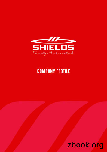 company profile - Shields Security Solution