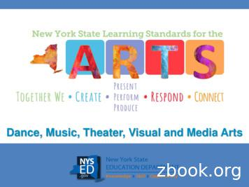 Dance, Music, Theater, Visual and Media Arts
