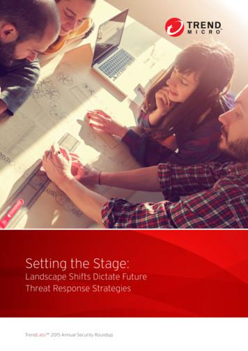 Setting the Stage - Trend Micro