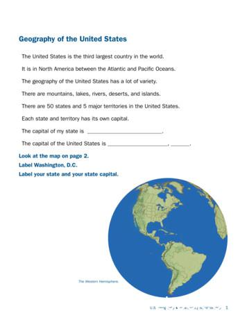 Geography of the United States - USCIS