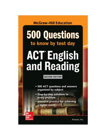 Also in the McGraw-Hill Education 500 Questions Series