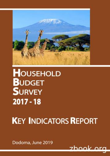 United Republic of Tanzania - National Bureau of Statistics