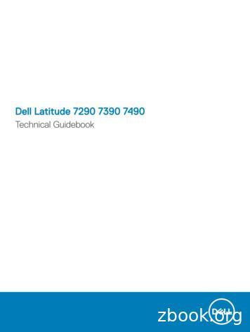 Dell Latitude 7290 7390 7490 Technical Guidebook
