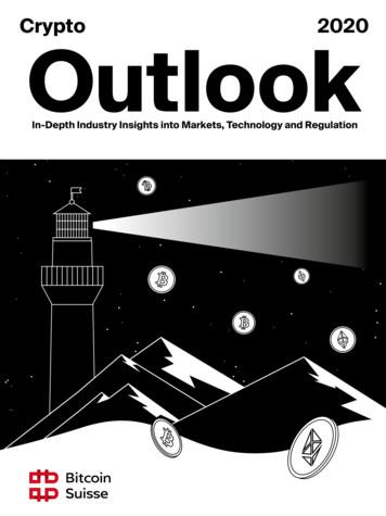 Crypto 2020 Outlook - Bitcoin Suisse
