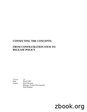 Connecting the Concepts - From Configuration Item to .