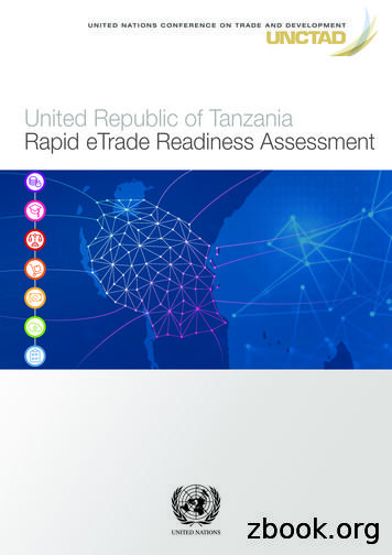 United Republic of Tanzania: Rapid eTrade Readiness Assessment