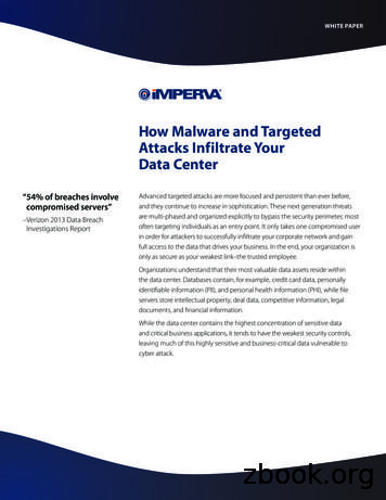 How Malware and Targeted Attacks Infiltrate Your Data Center