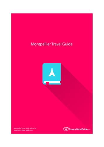 Montpellier Travel Guide - France Hotel Guide