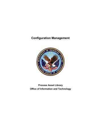 Configuration Management - VA.gov Home