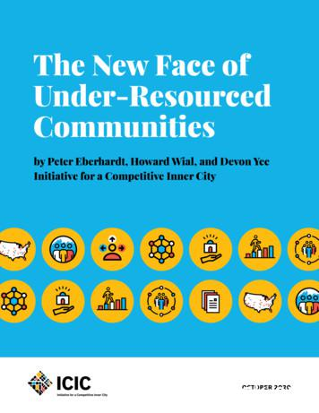 The New Face of Under-Resourced Communities