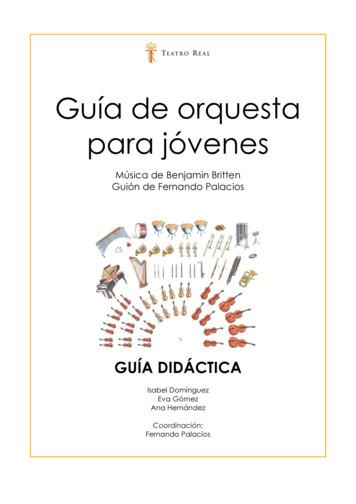 Gu a de orquesta para j venes - WordPress