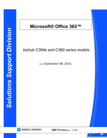 Microsoft Office 365 Solutions Support Division