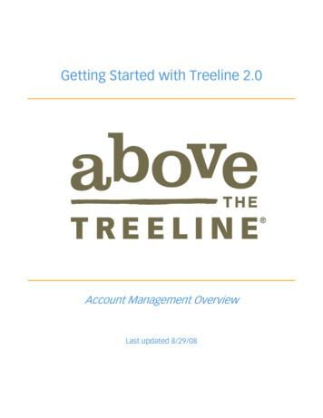 Getting Started with Treeline 2 - Above the Treeline