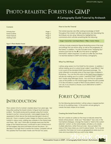 Photo-realistic Forests in GIMP - WordPress