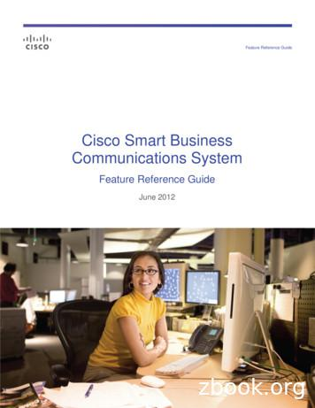 Cisco Smart Business Communications System Feature .