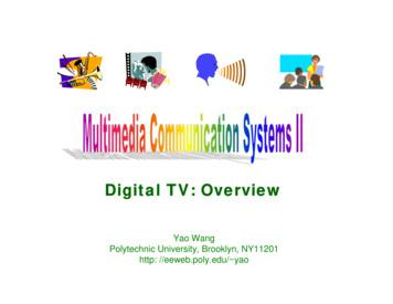 Digital TV: Overview - New York University