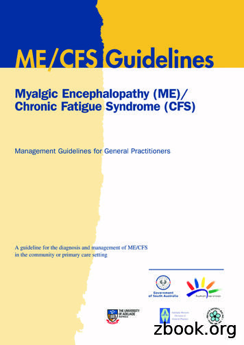 ME/CFS Guidelines