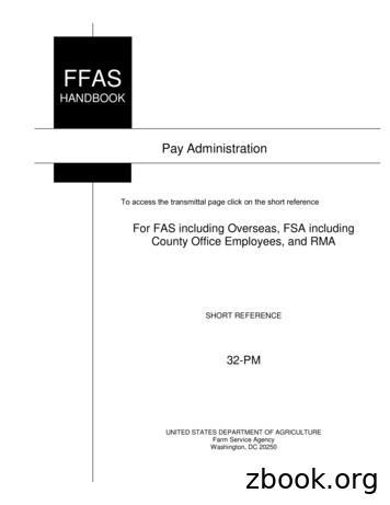 32-PM R00 A10, Pay Adminisration - Farm Service Agency