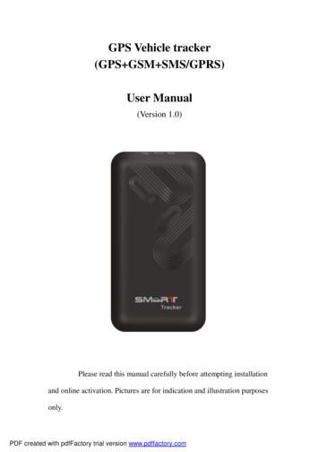 GPS Vehicle tracker (GPS GSM SMS/GPRS) User Manual