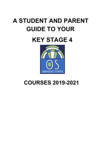 KEY STAGE 4 - Oakgrove School