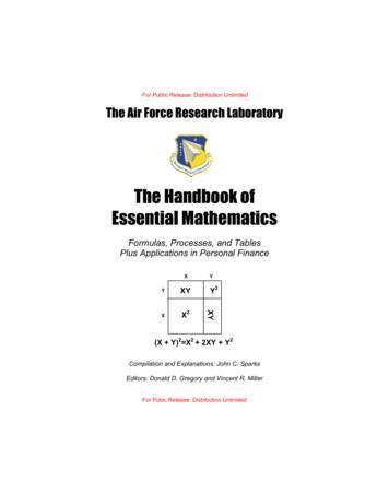 The Handbook of Essential Mathematics