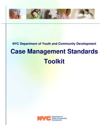 Case Management Toolkit 01-06-11 - New York City