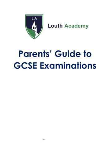 Parents' Guide to GCSE Examinations
