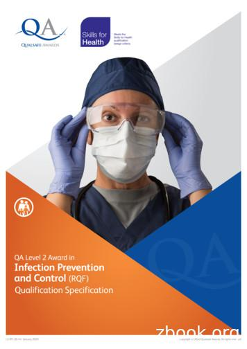 QA Level 2 Award in Infection Prevention and Control