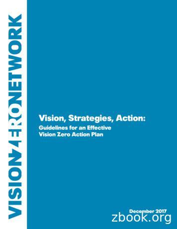 Vision, Strategies, Action - Vision Zero Network