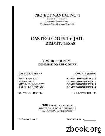 CASTRO COUNTY JAIL - swgc