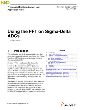 Using the FFT on Sigma-Delta ADCs