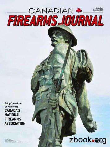 Canadian December 2015 Firearms Journal