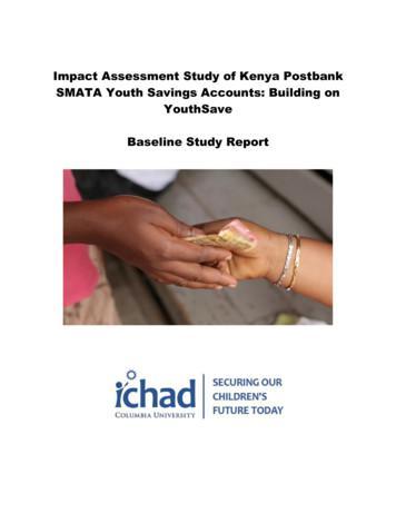 Impact Assessment Study of Kenya Postbank SMATA Youth .
