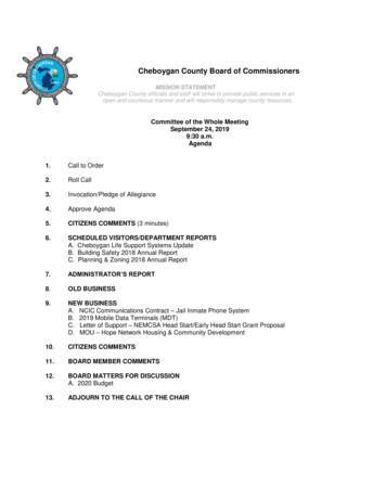 Cheboygan County Board of Commissioners