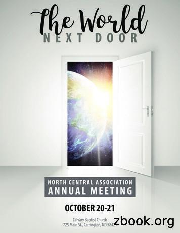 2017 NCA Moderator's Report