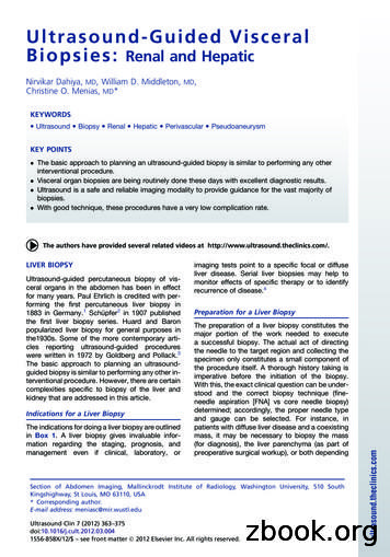 Ultrasound-Guided Visceral Biopsies