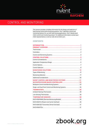 CONTROL AND MONITORING - nVent