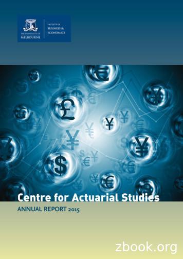Centre for Actuarial Studies