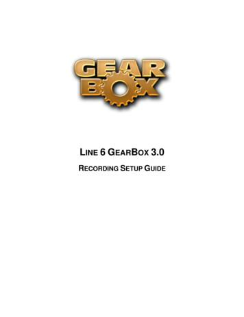 LINE 6 GEARBOX 3
