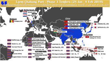 Laem Chabang Port : Phase 3 Tenders (28 Jan - 8 Feb 2019 .