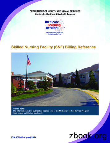 Skilled Nursing Facility (SNF) Billing Reference